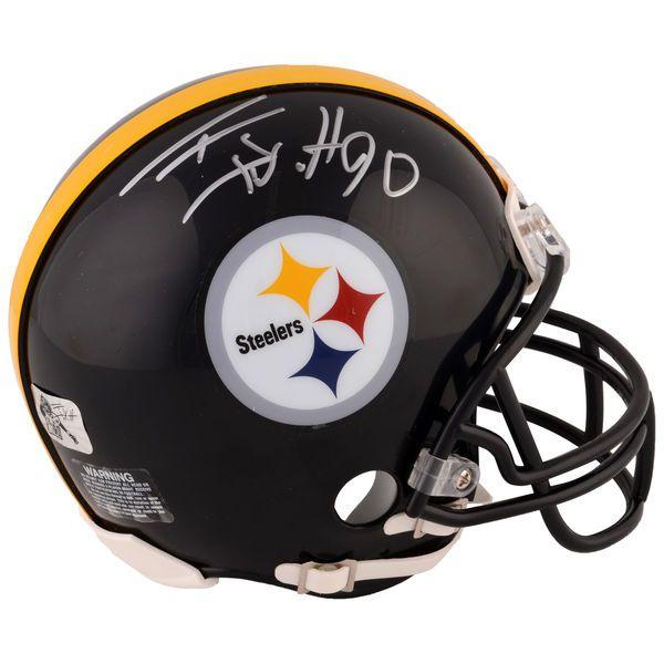 T.J. Watt Pittsburgh Steelers Fanatics Authentic Autographed Riddell Mini Helmet - $129.99