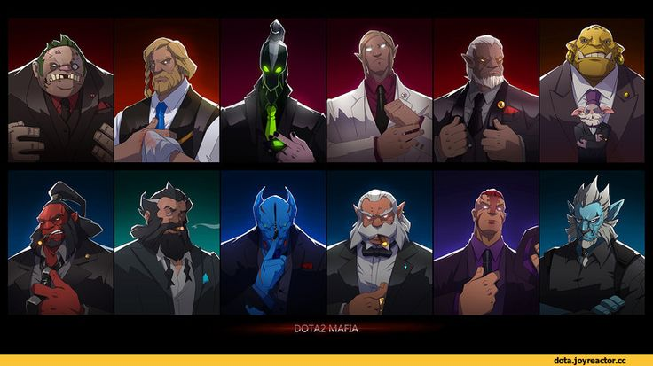 D0TA2 MAFIA,Dota,фэндомы,Pudge the Butcher,Omniknight,Rubick the Grand Magus,Carl The Invoker,Warlock (Dota),Alchemist (Dota),Mogul Khan the Axe,Kunkka the Admiral,Balanar the Night Stalker,Zeus (Dota),Anti-Mage,Azwraith the Phantom Lancer