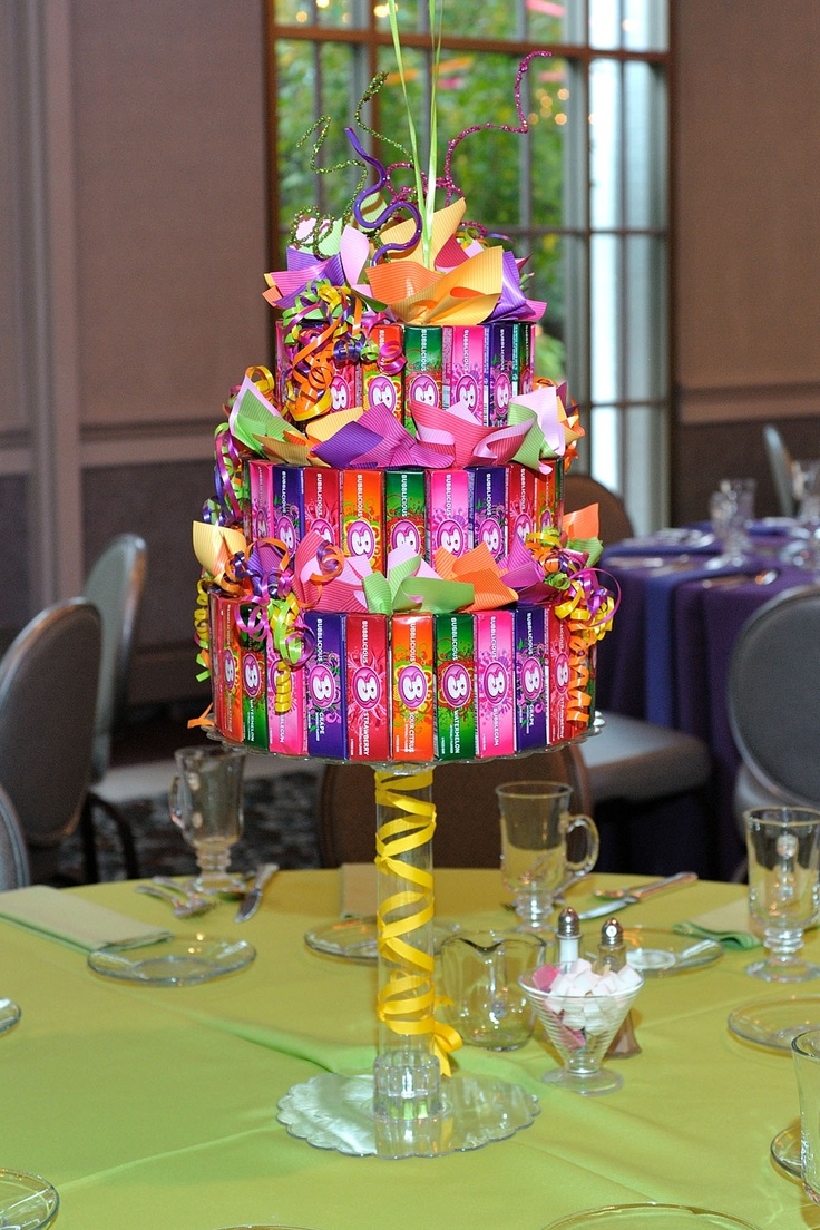 Our tiered candy cakes diy craftiness make it