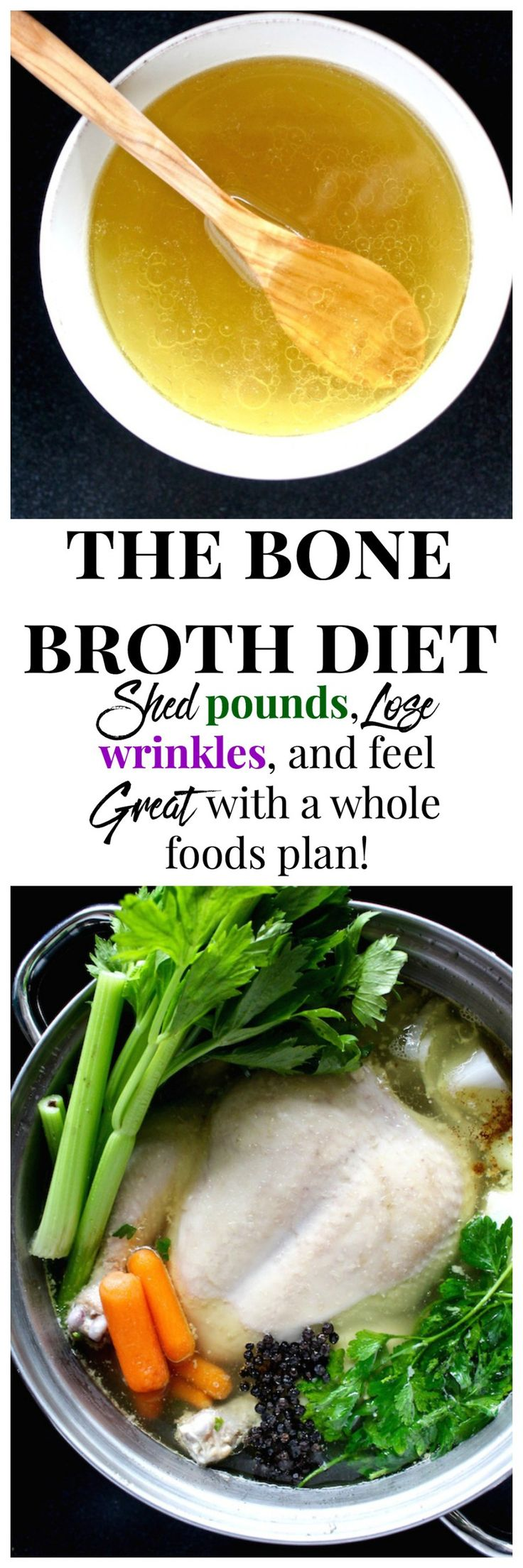 "HOW ""THE BONE BROTH DIET"" HELPS YOU SHED POUNDS & LOSE WRINKLES ACCORDING TO DR…"