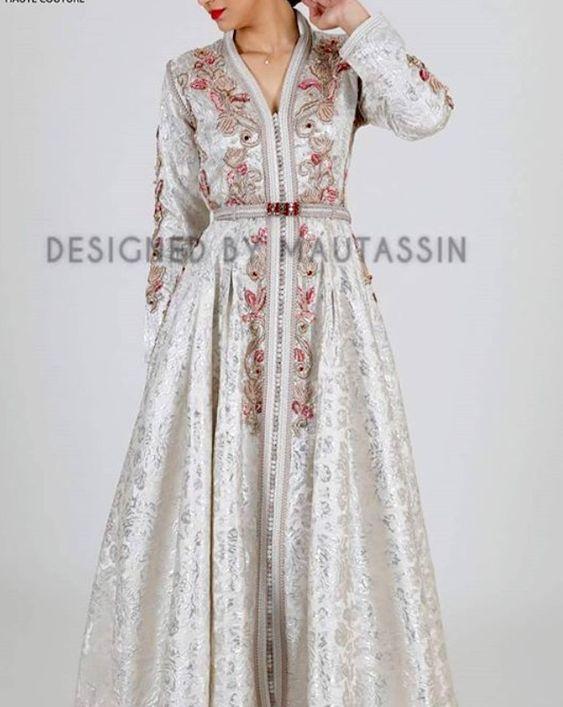 Caftan Haute Couture 2018 : Tenues Marocaines De Luxe - Caftan Marocain de Luxe 2018 : Boutique Vente Caftan Pas Cher