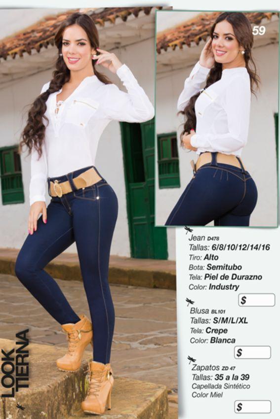 Lindo jean piel de durazno, tiro alto y con bota semi tubo ideal para cualquier ocasión Referencia: D478 Tallas: 6,14,16 Color: Industry Precio: $67000 Visítanos en www.comercializadoravyp.com