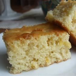 Easy Pineapple Cake - Allrecipes.com  I will try to use coconut oil instead of butter next time and see how it turns out.
