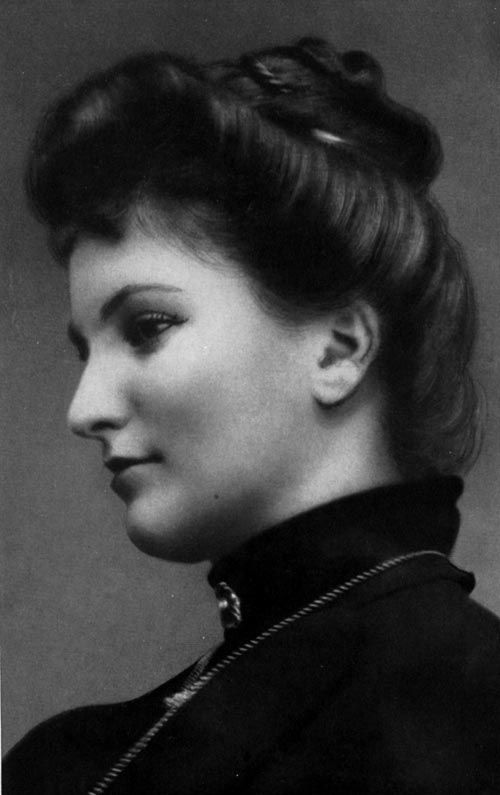 Alma Mahler (1879-1964) Pianist and composer, her few lieder were really well considered, though she had to stopped writing as a condition for her marriage with Gustav Mahler. She's reminded as a free spirit.