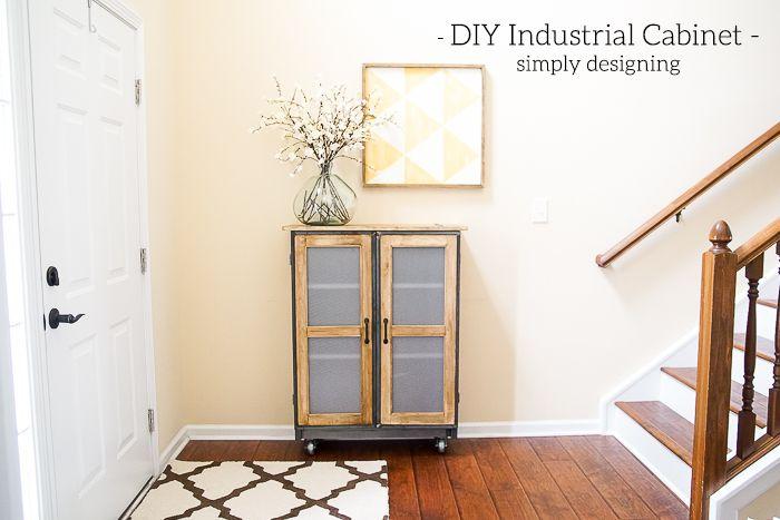 DIY Industrial Cabinet Hack