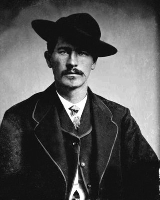 1870 Gunfighter at OK Corral WYATT EARP  Portrait