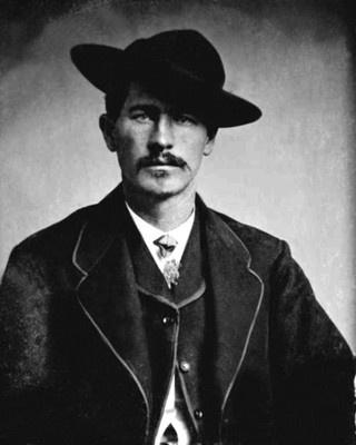 1870 Gunfighter at OK Corral WYATT EARP  Portrait