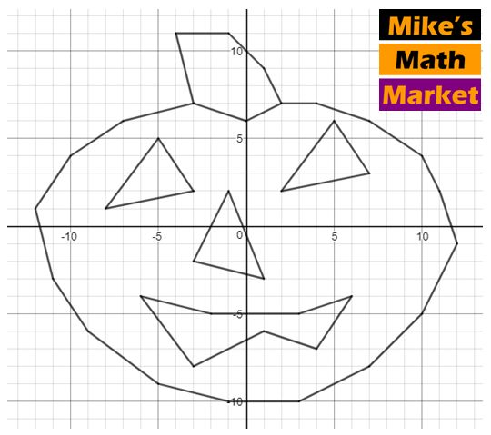 89 Best Halloween Coordinate Graphing Activities Images On