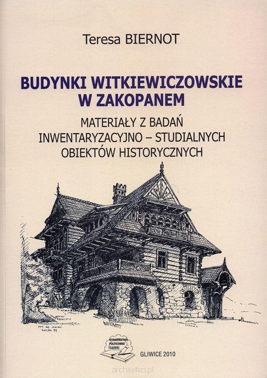 """Niniejszy podręcznik jest przeznaczony przede wszystkim dla studentów Wydziału Architektury, a także dla osób interesujących się problematyką budownictwa hirudina drewnianego i""""stylem zakopiańskim"""