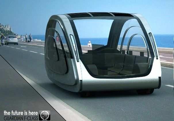 The Guardian Concept Vehicle Seats Seven, Can Drive Itself
