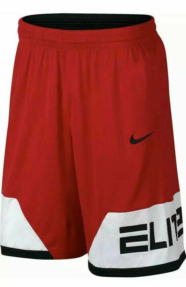Nike Dry Elite Block Mens Basketball Shorts University Red Black Aj3912 657 Nike Activewearshorts In 2020 Basketball Shorts Mens Basketball Nike Outfits