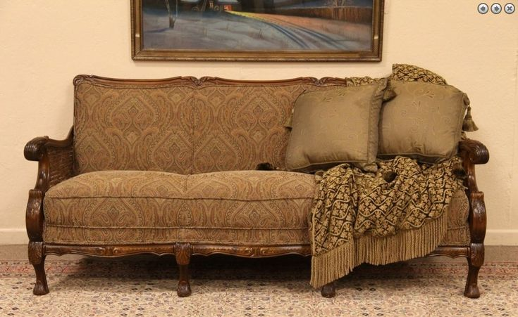 Carved 1930 S Sofa Design For Performance The Glass