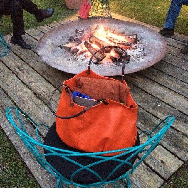 Merci à nos amis de Troisgros par un superbe week-end   The Burnt Orange Talega