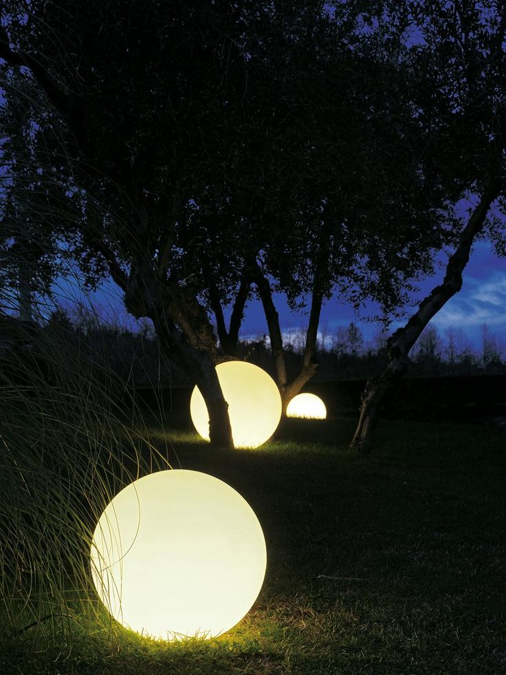 garden lights....love these!