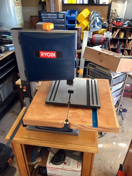 Band Saw Table Upgrade