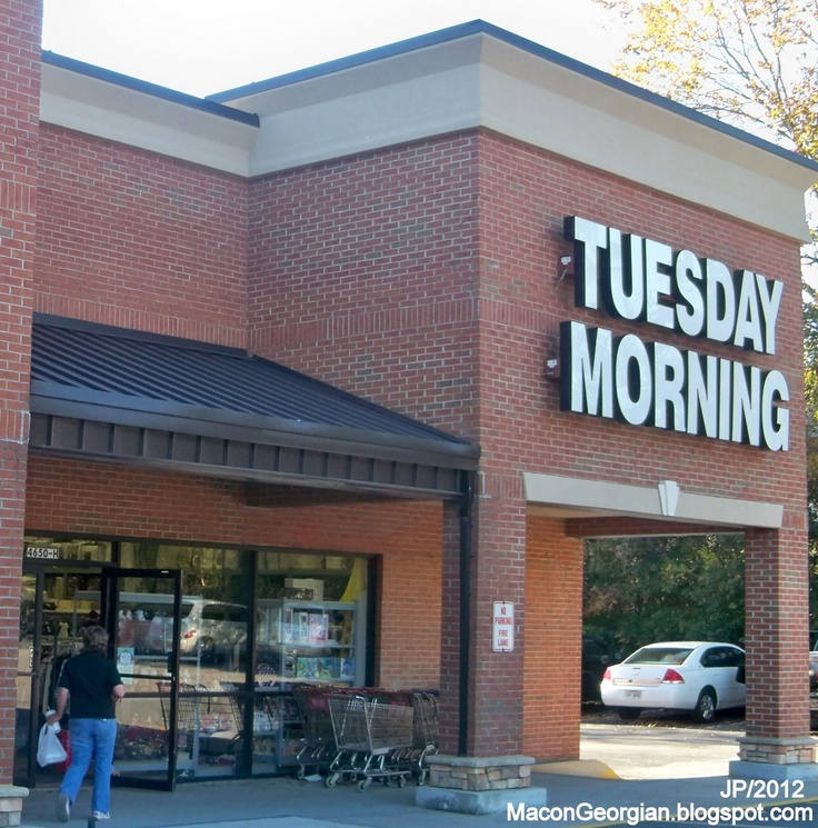 Tuesday Morning stores---like the one in Oxford, MS.  Is there one in Tupelo?