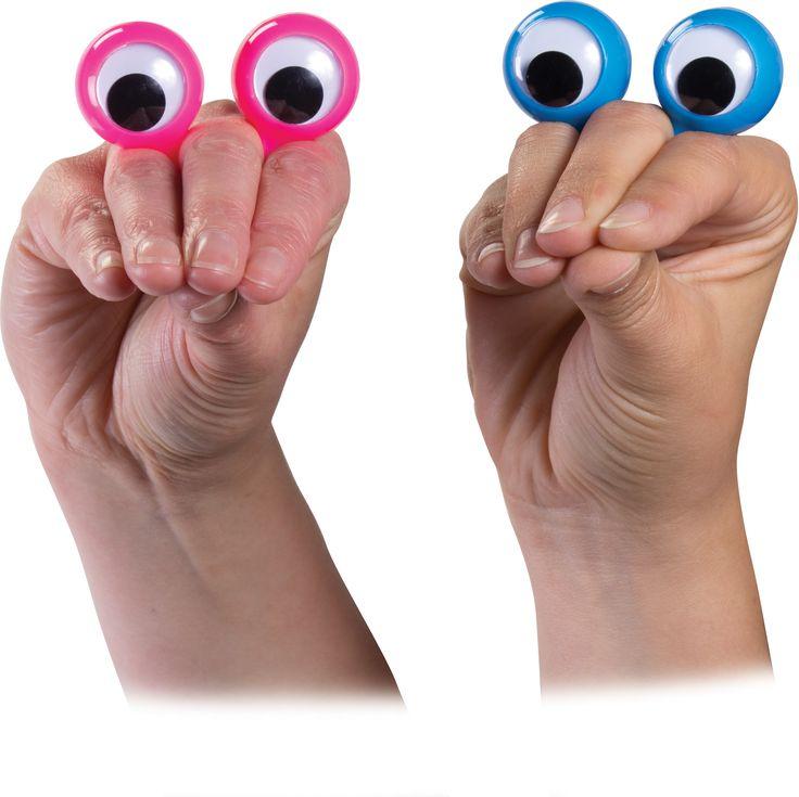doigts espions Une marionnette à main instantanée! Cette paire de grands yeux écarquillés bulbe sont reliés par un élément élastique qui glisse en toute sécurité et confortablement sur un doigt. Une fois monté, ils donnent de la personnalité instantané à la main de la personne, avec un grand caractère comique prévu en changeant la position des doigts ou en faisant un poing. À un prix de grande disponibilé et en mesure de satisfaire tous les sens de l'humour, nous pensons que cette article…