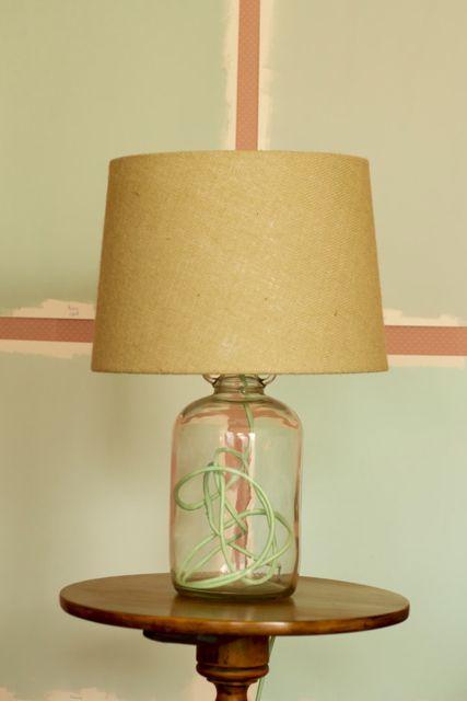 Sados da Concha Homemade Lamp (via saidosdaconcha.blogspot.com)