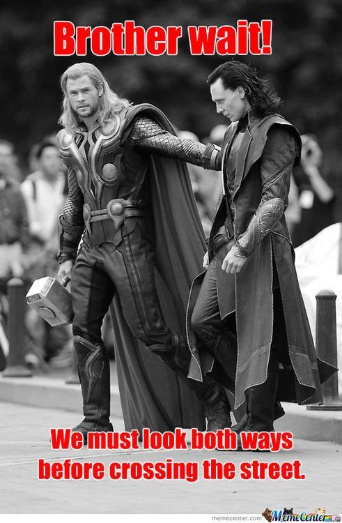 I laughed SO HARD at this.: Geek, Avengers, Toms Hiddleston, Big Brother, Funny, Movie, Safety First, Thor Loki, Superhero