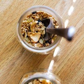 ... Eleven Madison Park's famous breakfast granola, tailored with Autumn