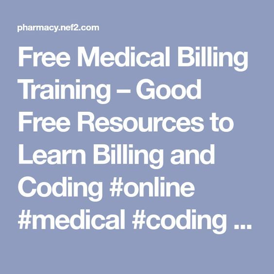 Free Medical Billing Training – Good Free Resources to Learn Billing ...