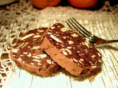 MMM...che profumino..: Salame di cioccolato