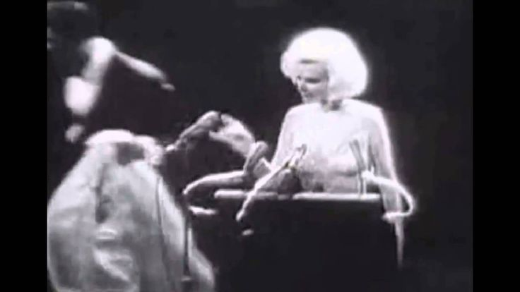 Today's YouTube presentation brought to you by user name, (William Forsche), gives you Marilyn Monroe singing Happy Birthday to the president in 1962.  For more information regarding this story check out my blog. https://jdmitchelldesigns.wordpress.com/2016/05/19/marilyn-monroe-singing-happy-birthday/