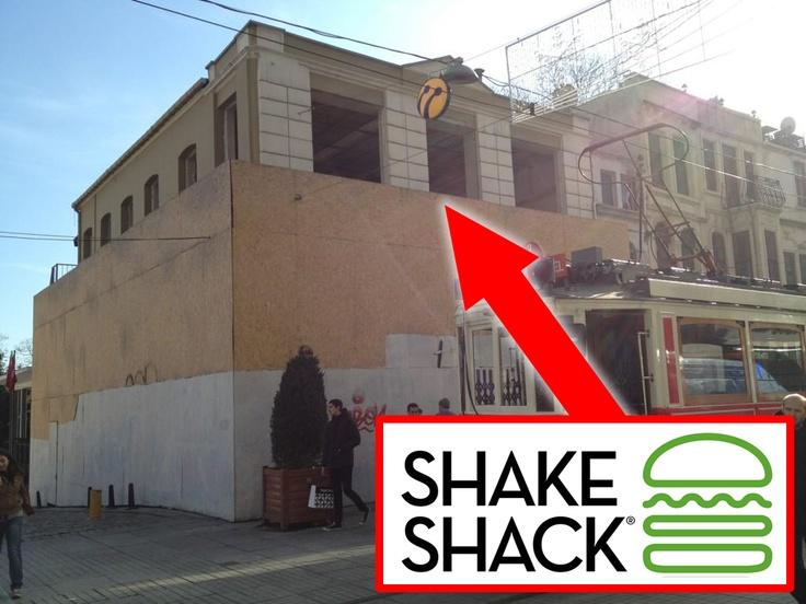 Shake Shack Istanbul, Turkey