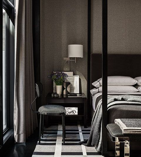 Dark Bedroom At Night 311 best black walls images on pinterest | home, black walls and