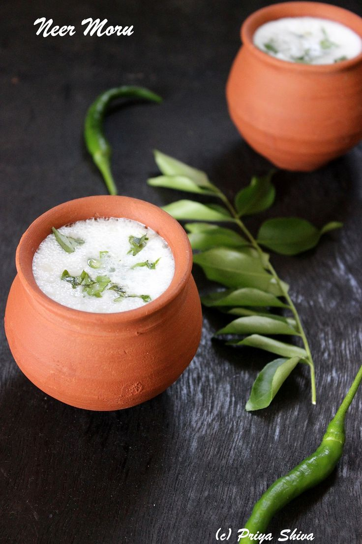Neer Moru - spiced buttermilk, a #healthy #drink to enjoy especially after a heavy meal!