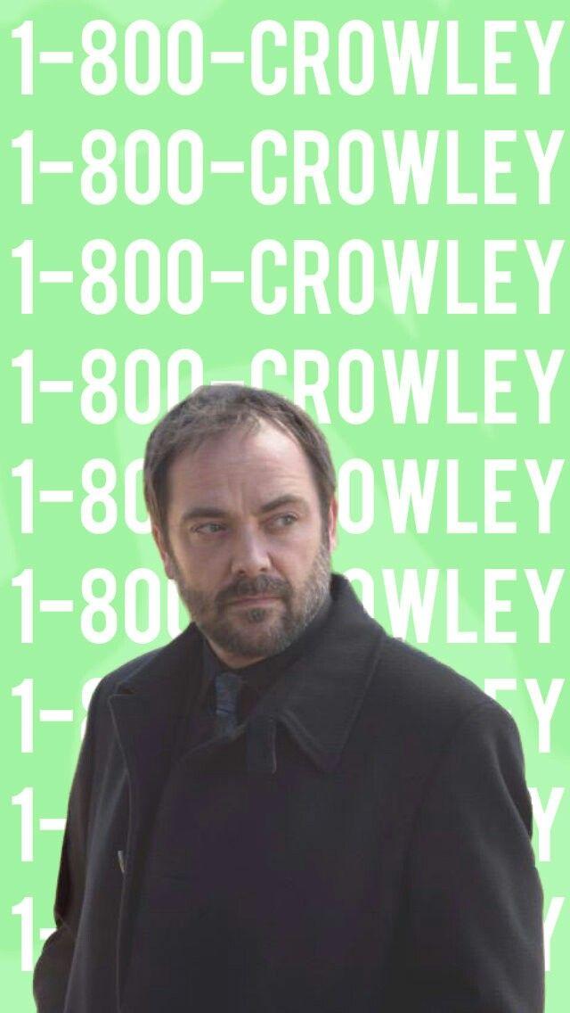 supernatural crowley iphone wallpaper wwwpixsharkcom