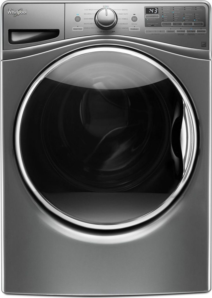 4.5 Cu. Ft. Chrome Shadow Stackable Front Load Washer - Energy Star