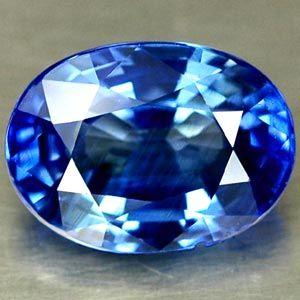 Royal blauer Saphir, einer der bekanntesten Edelsteine