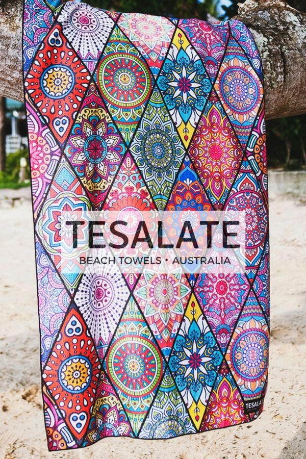 Tesalate Beach Towels Are Ultra Compact Super Absorbent Dry