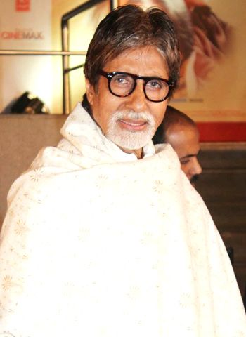 Amitabh Bachchan praises people of Bhopal!