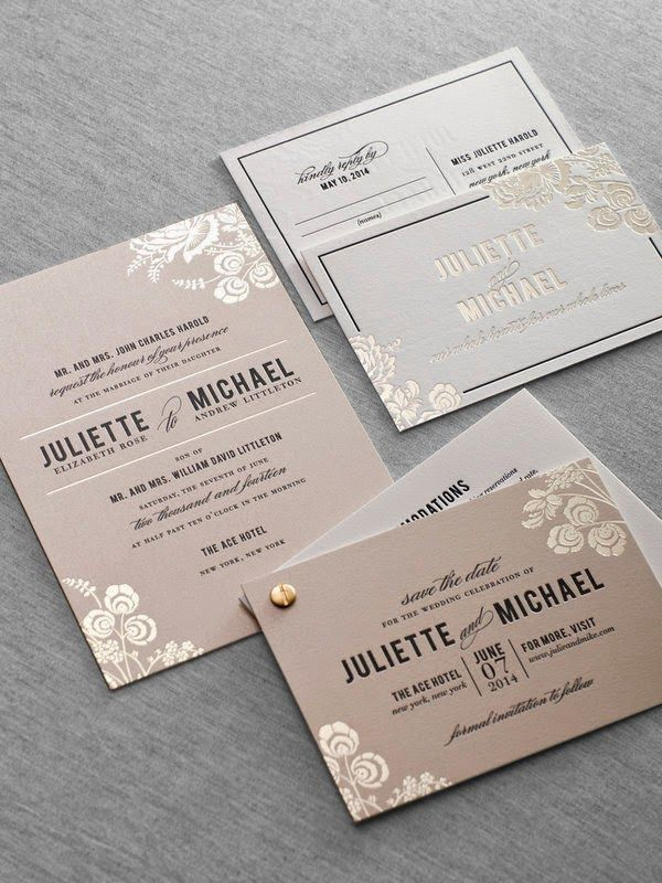 tulip wedding invitation templates%0A Wedding stationery inspiration  ideas for your wedding invitations  Foil  stamped letterpress wedding invitation by Dauphine Press