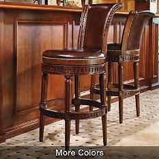 Bar Stools - Counter Height Bar Stools - Luxury Bar Stool - Frontgate Order Mahogany & 8 best Bar Stools images on Pinterest | Basement bars Counter ... islam-shia.org