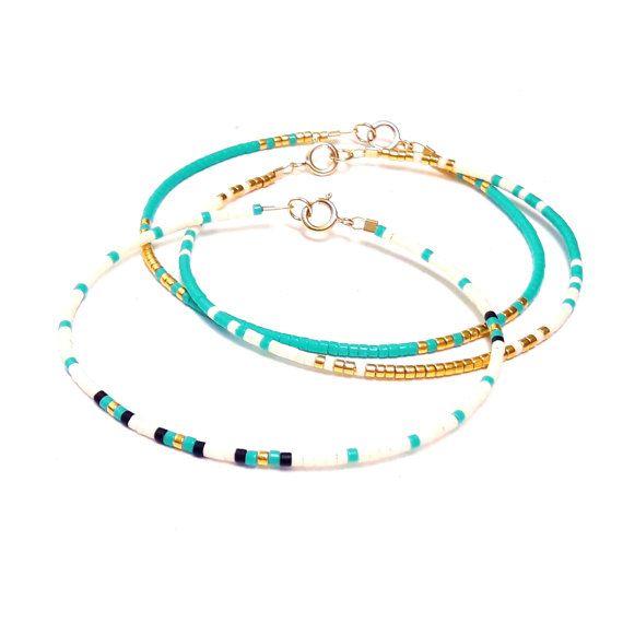 Tiny bracelet Layering Bracelet Delicate Bracelet от ToccoDiLustro