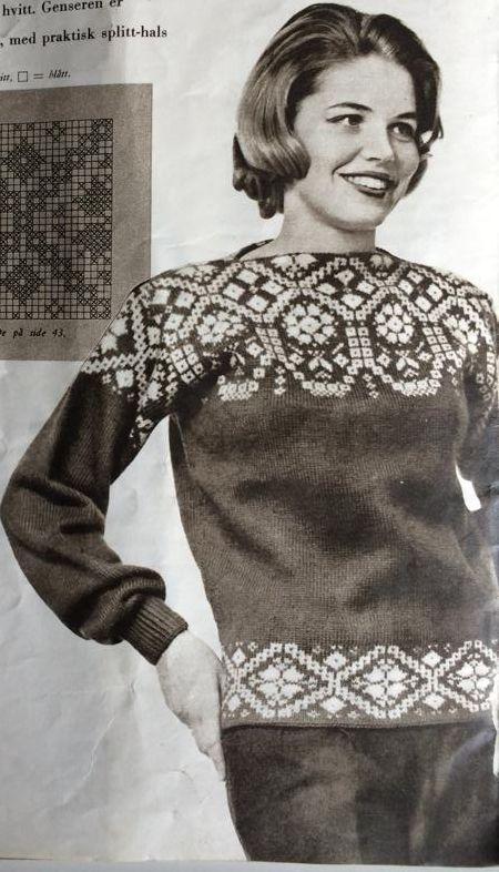 love vintage knitwear