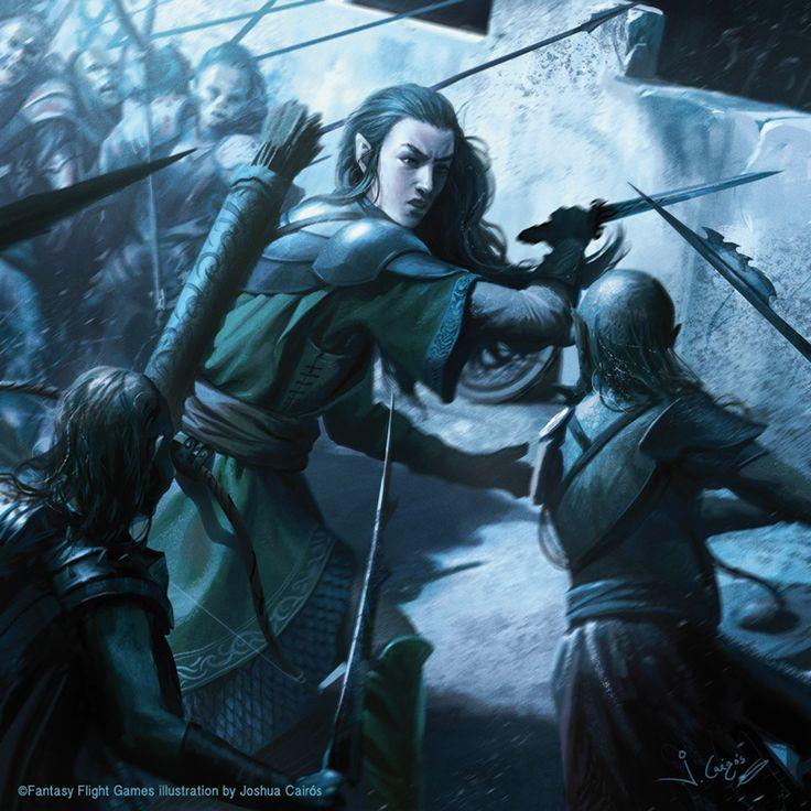 Legolas fighting by 1oshuart.deviantart.com on @DeviantArt