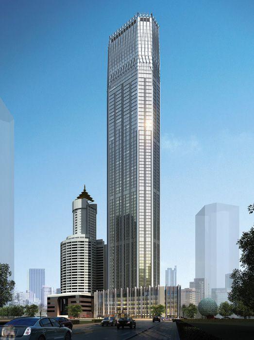 Dalian International Trade Center, China, by Dalian Architectural Design & Research Institute