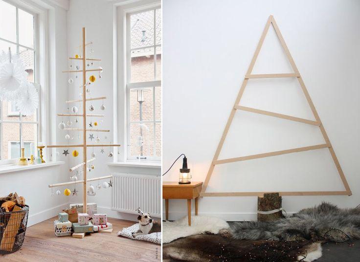 Scandinave : le sapin DIY en bois clair