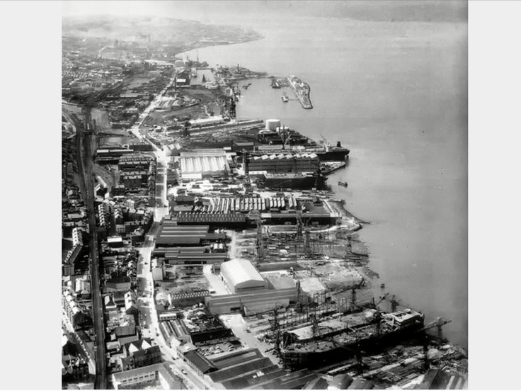 The shipyards of Greenock, sadly now a housing estate..