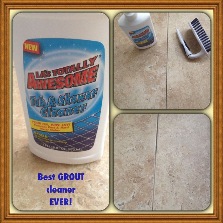 BEST GROUT CLEANER EVER! I have stone (Travertine) floors