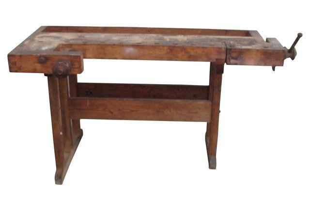 Antique Carpenter's Work Bench