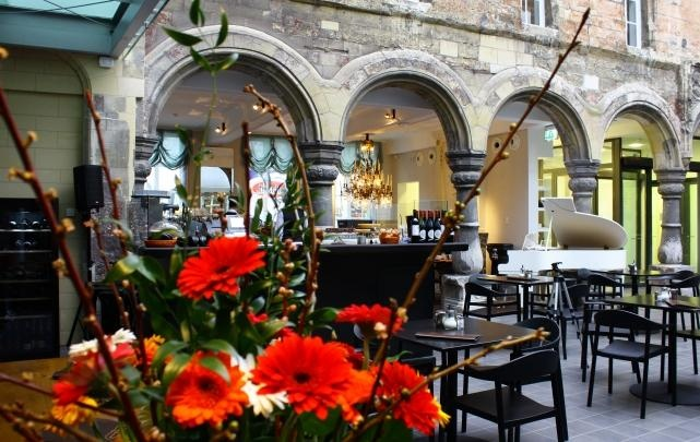 Looks like a pretty place to stay for another coffee :) -  Grand Café Maastricht Soiron