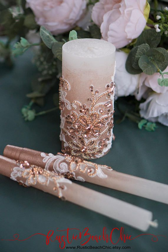 Hochzeit Einheit Kerze Gesetzt Rustikale Hochzeit Einheit Kerze