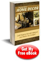 Inexpensive Home Decor #Craft eBook [I think I need a Free eBooks board! ;) Mo]