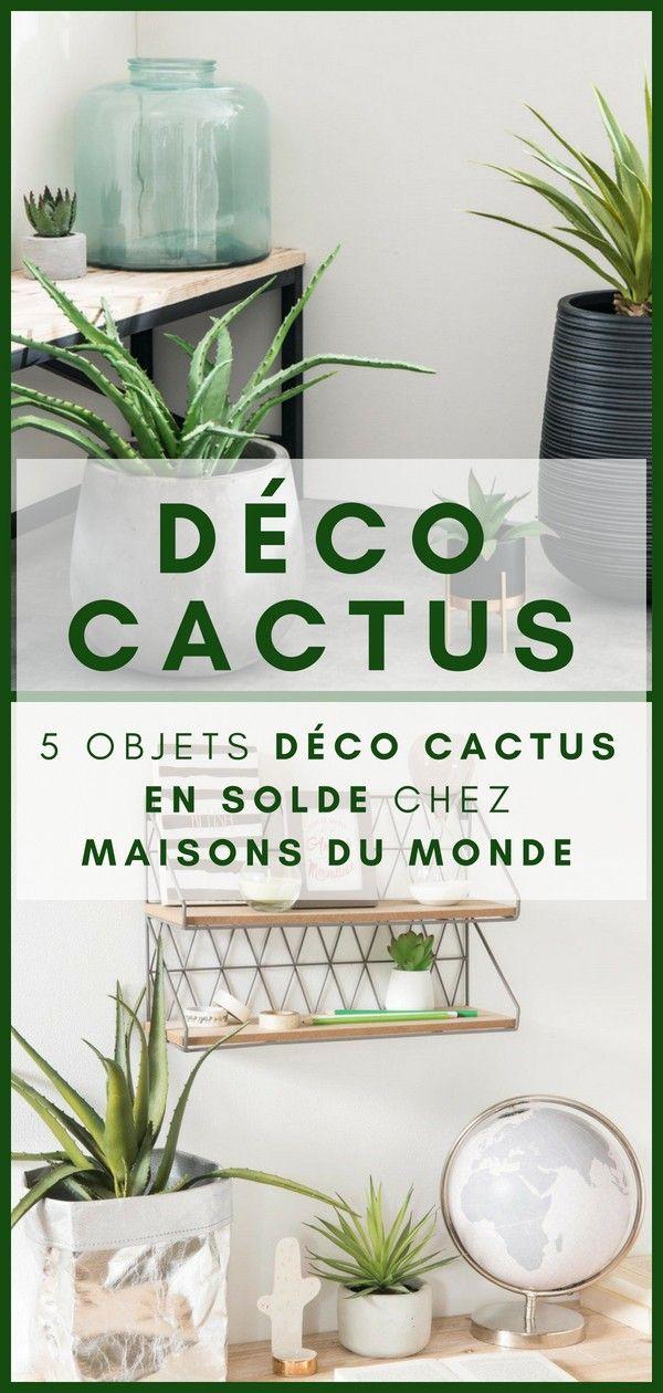 🌵🌵🌵 5 Déco Cactus à Shopper chez Maisons du Monde (pendant les ...