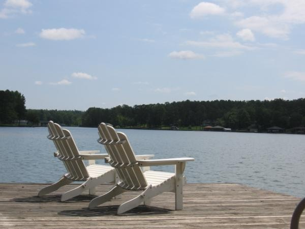 7 best dock seating images on pinterest relaxation for Lake sinclair fishing